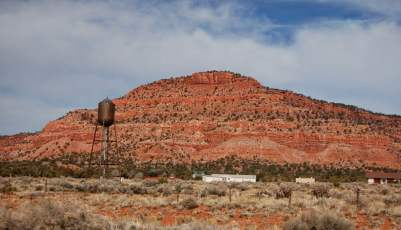 Quelque part au sud de l'Utah