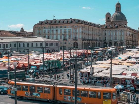 marché porta palazzo de Turin