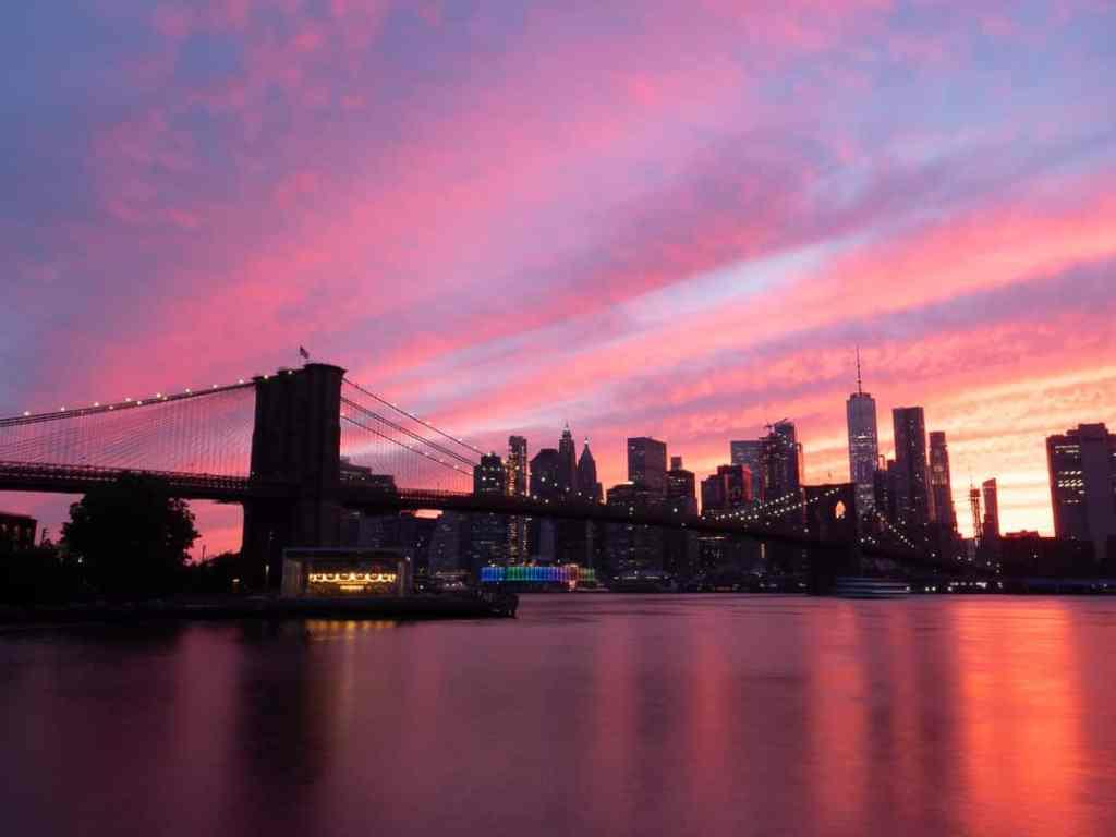 Coucher de soleil Brooklyn