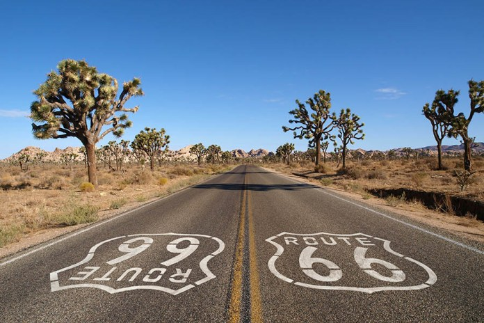 From Chicago to Los Angeles, Route 66 is the longest of our classic road trips