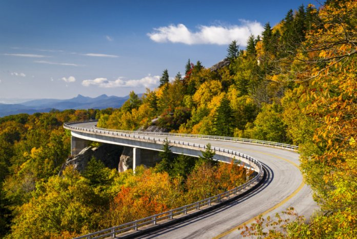 Autumn is a great time to drive the Blue Ridge Parkway