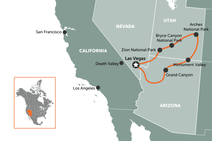 Las Vegas Loop | map