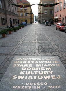 UNESCO World Heritage in Warsaw