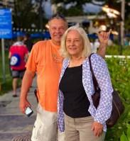 Eddie and Elaine at Waikiki Beach