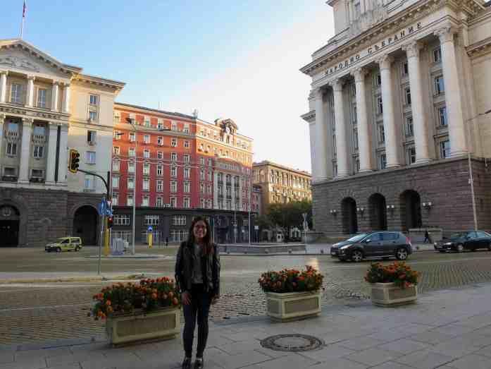 Bulgarian soviet union buildings