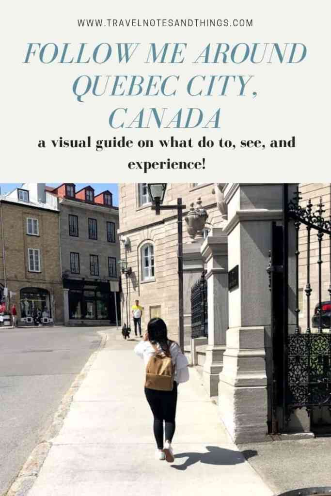 Travel with me as I take you along on a photo and video journey through the streets of Old Quebec City and Montmorency Falls in Canada.