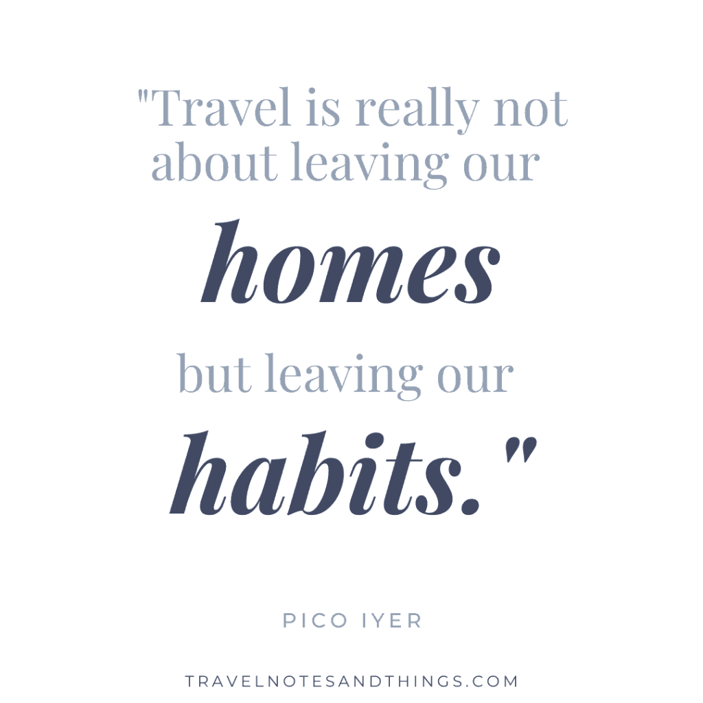Travel quote, blue font, white background, minimalistic quotes. | #travelquotes #traveltruths #quotes