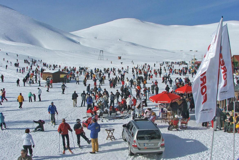 χιονοδρομικό Φαλακρού Δράμας