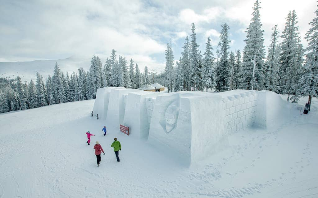 Kidtopia Snow Fort