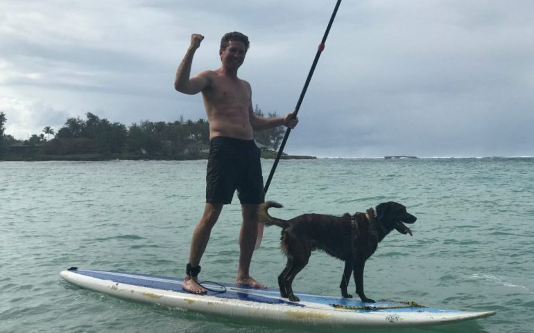 SUP With Dogs Oahu Hawaii