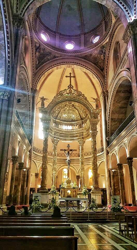 The Cathedral of the Immaculate Conception Inside