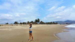 Beach Workout Ecuador Kashlee