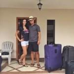 Trevor & Kashlee in Puerto Cayo Ecuador