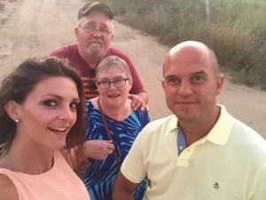 Lynda and Ed Parmiter in Mexico