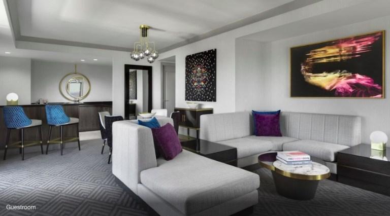 wraparound terrace suite renovated room photos