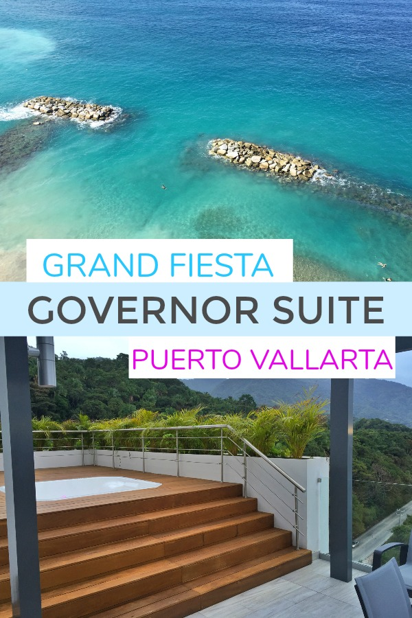 Governor Suite at Grand Fiesta Puerto Vallarta