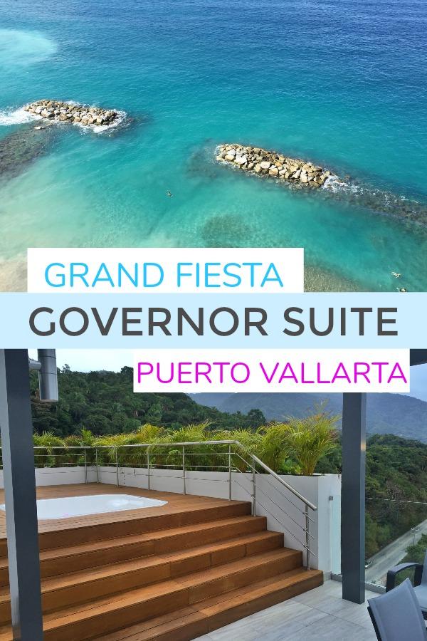 Governor Suite at Grand Fiesta Puerto Vallarta