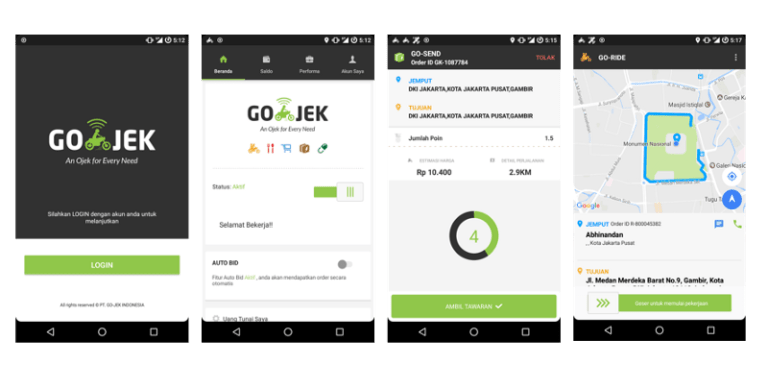 How to use the Go-Jek app in Bali