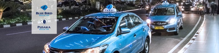 Take a safe blue bird taxi in bali