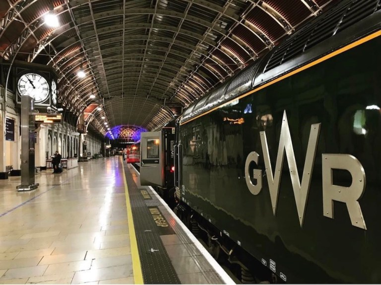 GWR Paddington Station in London