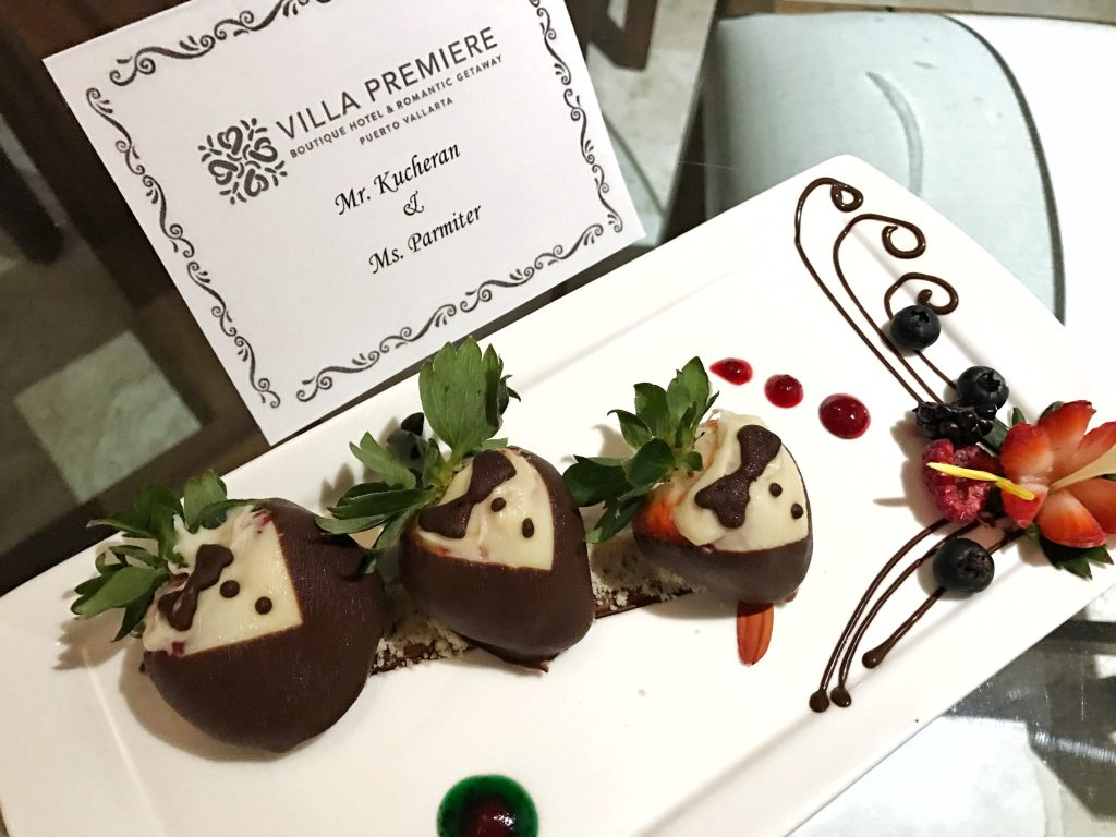 Villa Premiere Chocolate Strawberries