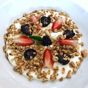 yogurt parfait villa premiere