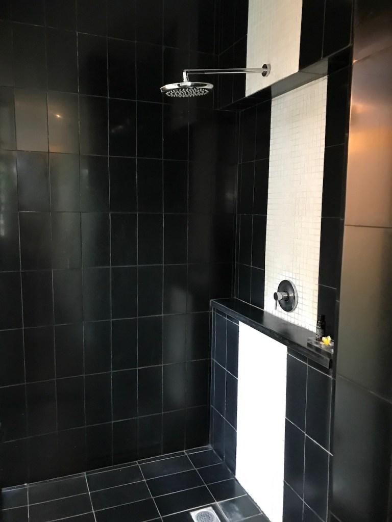 Shower in Deluxe Pool Villa Seminyak Sun Island