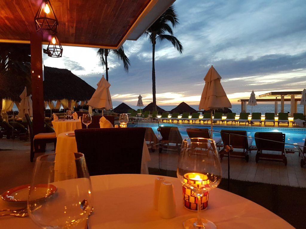 Sunset Dinner at Murales in Puerto Vallarta