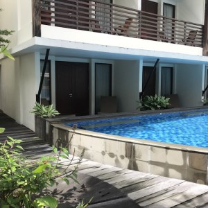 Pool suite in Kuta at Sun Island