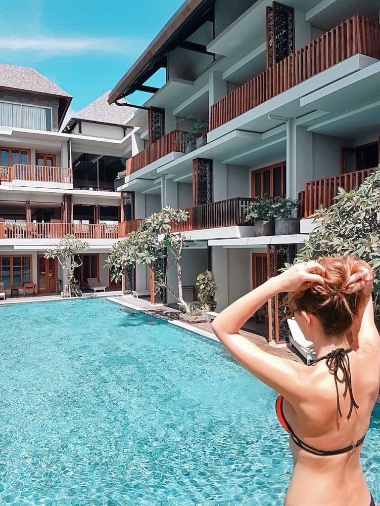 Kashlee Kucheran Pool Access Haven Suites Canggu