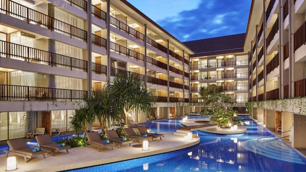 Four points Kuta Pool Access