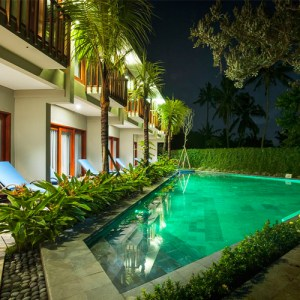 Wana pool access suites in Ubud