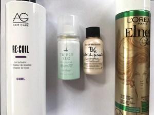 Travel Hair- AG Recoil, Triple Sec Drybar and Bumble's Pret a Powder