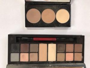 Travel Makeup- Smashbox Contour Palette and Matte Eyes