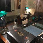 Churchill's Secret Underground Bedroom