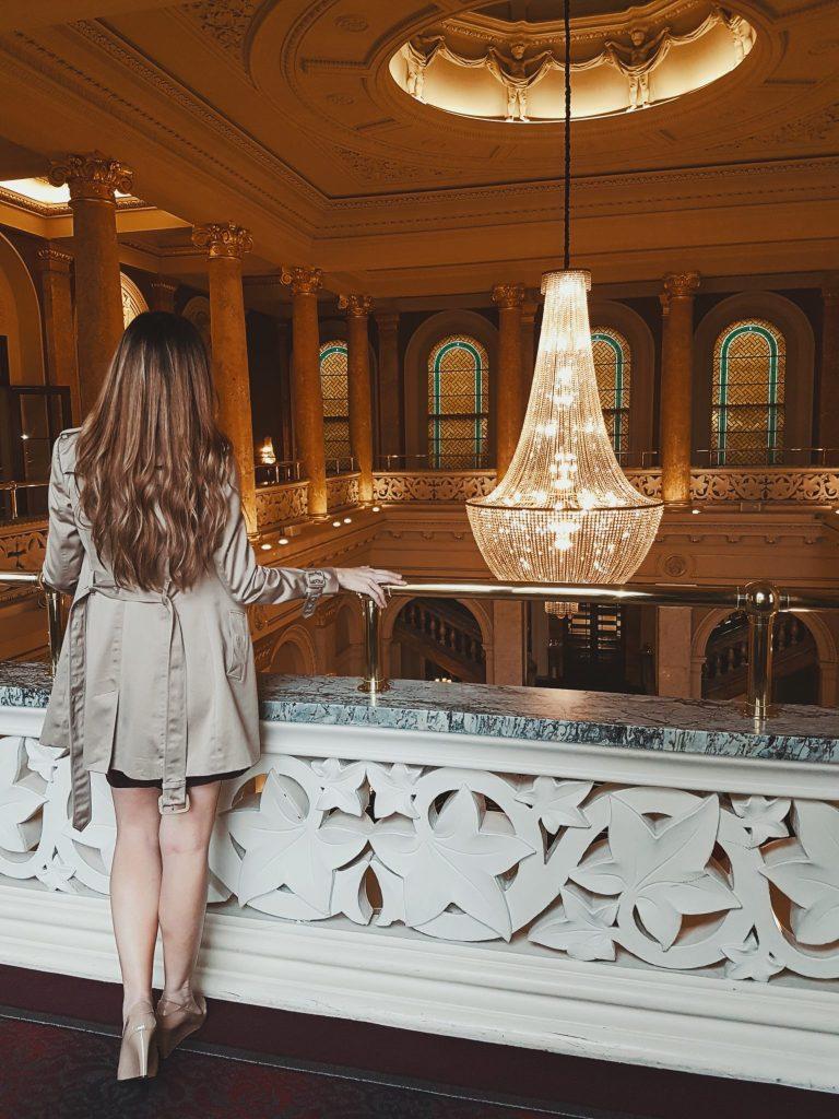 Grosvenor Hotel London Chandelier Kashlee Kucheran