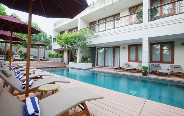 Seminyak Lagoon All Suites Pool Access