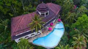 Ayung resort with pool in ubud bali