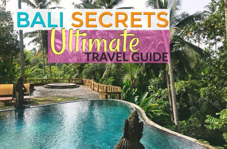 Bali Secrets - The Ultimate Bali Travel Guide