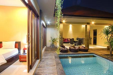 Lotus Tirta affordable hotel in bali