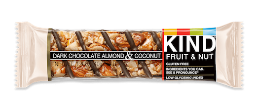 Kind Bars - perfect snack for your carry on bag