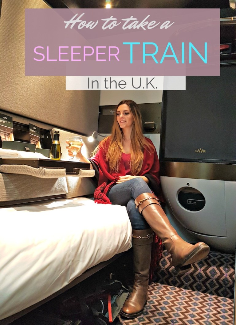 Sleeper Train in the UK - how to travel overnight train