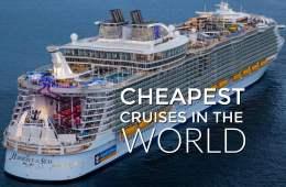 Cheapest Cruises In The World, Cheap Cruises, Cheap Cruises