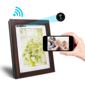 Picture Frame with a Hidden Camera