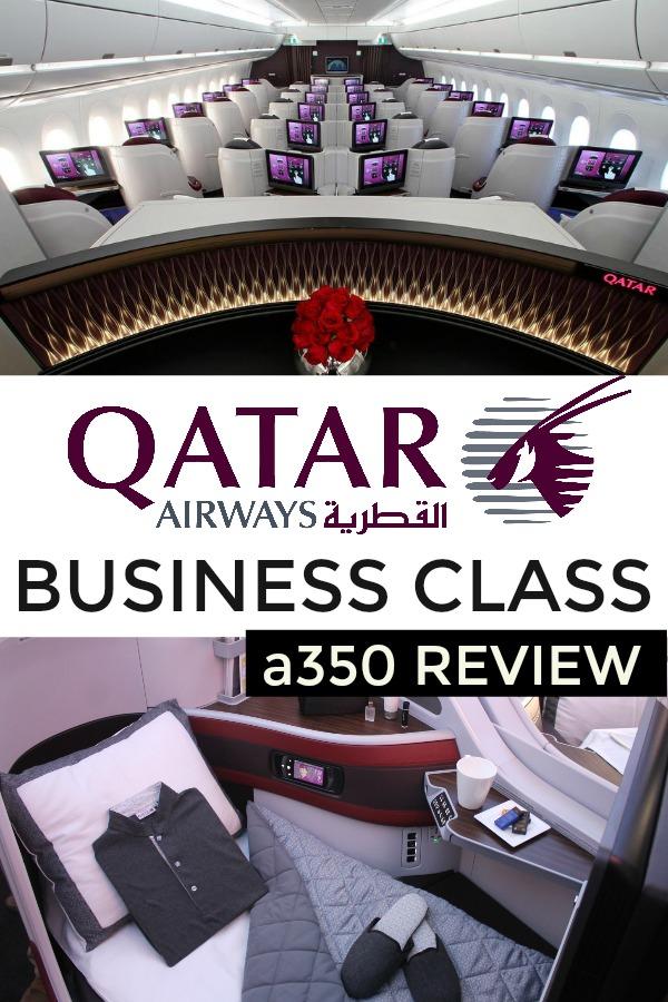 Qatar a350 review business class