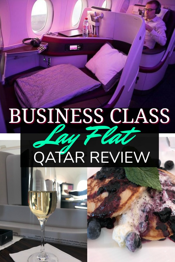 Qatar Airways Review - Lay Flat Seats on 787 and a350