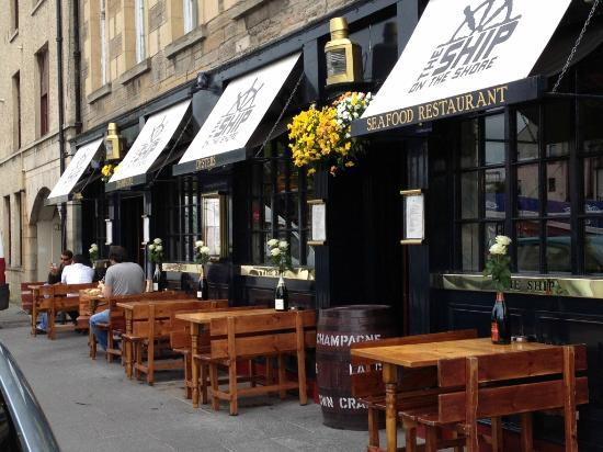 ship on the shore restaurant - best places to eat leith