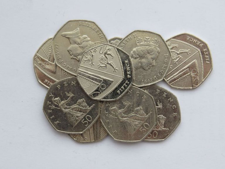 British Pence for washrooms in London