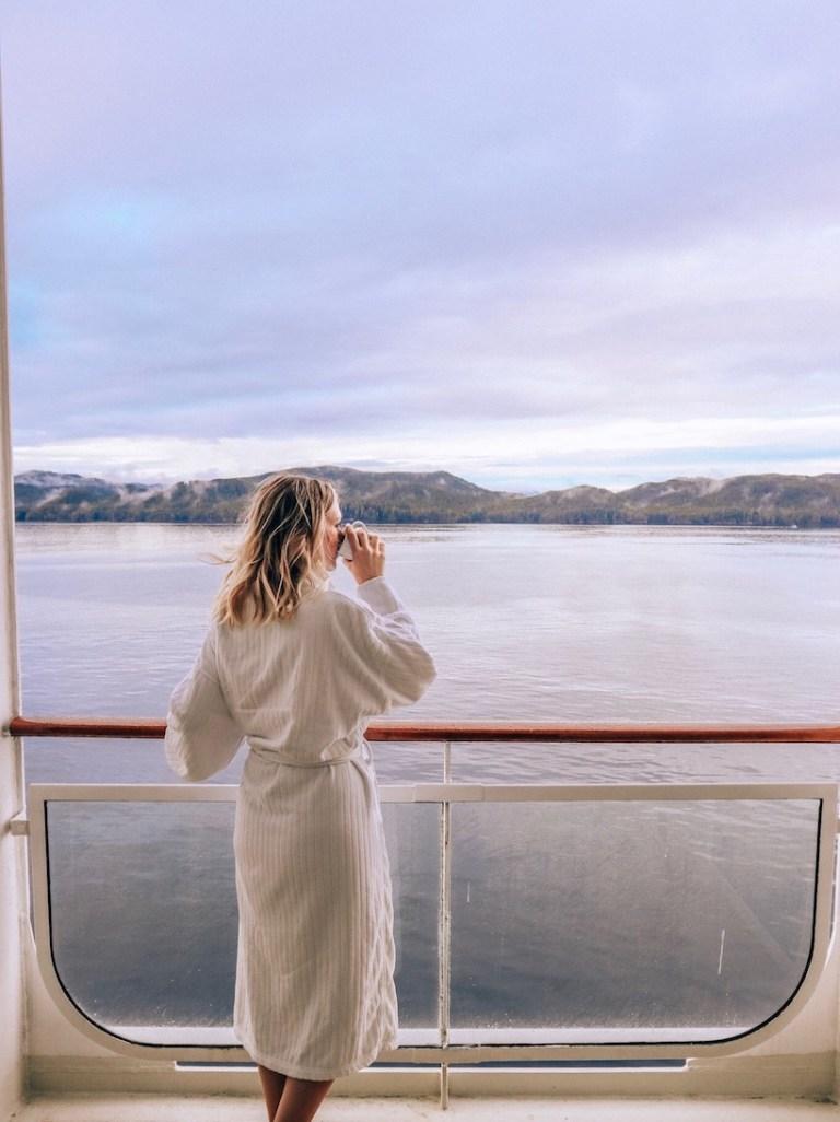 Kashlee Kucheran on Celebrity Transpacific Cruise