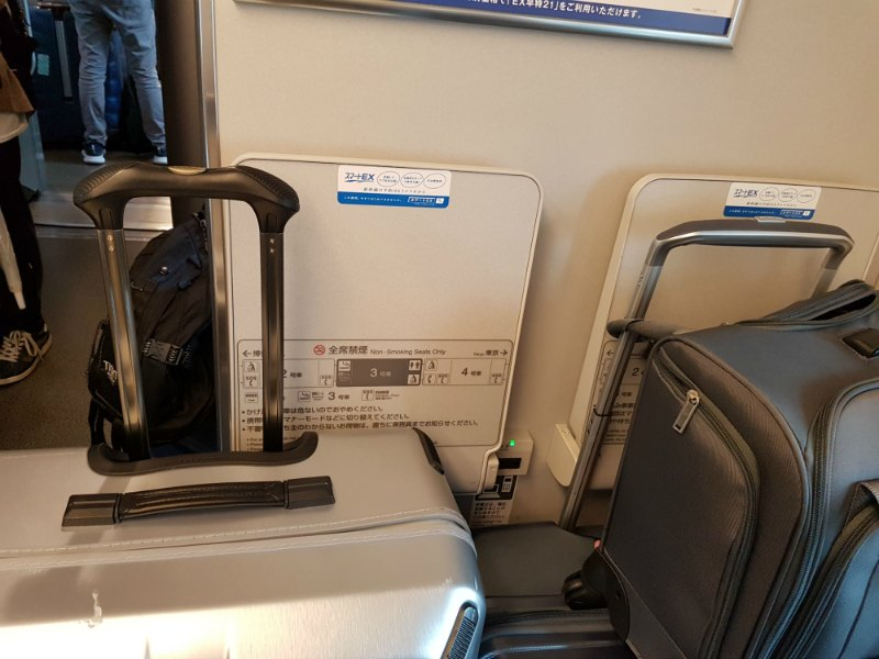 Can You Take Luggage on The Shinkansen Bullet Train 2